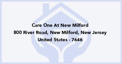 Care One At New Milford