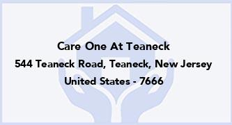Care One At Teaneck