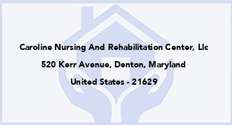 Caroline Nursing And Rehabilitation Center, Llc