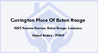Carrington Place Of Baton Rouge