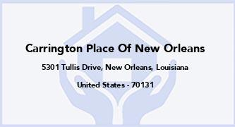 Carrington Place Of New Orleans