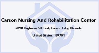 Carson Nursing And Rehabilitation Center