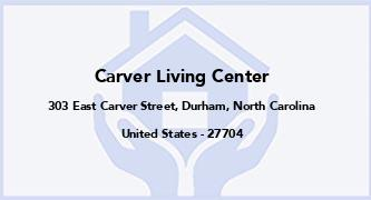 Carver Living Center