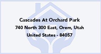 Cascades At Orchard Park