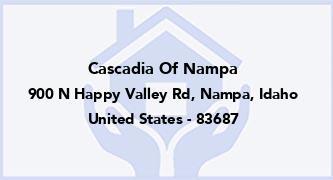 Cascadia Of Nampa