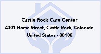 Castle Rock Care Center