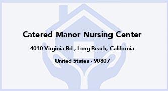 Catered Manor Nursing Center