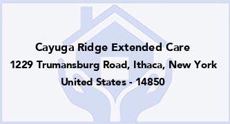 Cayuga Ridge Extended Care