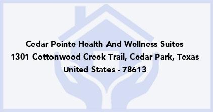 Cedar Pointe Health And Wellness Suites