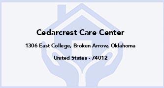 Cedarcrest Care Center