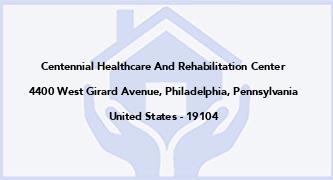 Centennial Healthcare And Rehabilitation Center