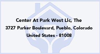 Center At Park West Llc, The