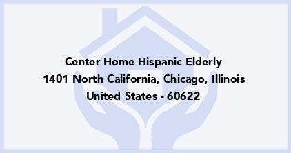 Center Home Hispanic Elderly