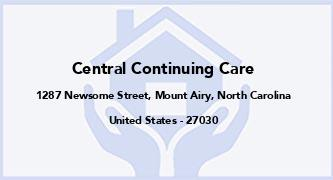 Central Continuing Care