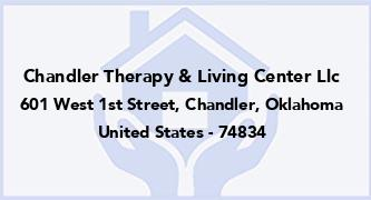 Chandler Therapy & Living Center Llc