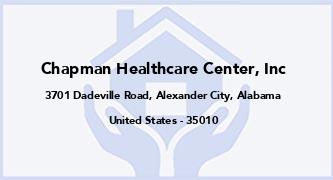Chapman Healthcare Center, Inc