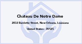 Chateau De Notre Dame