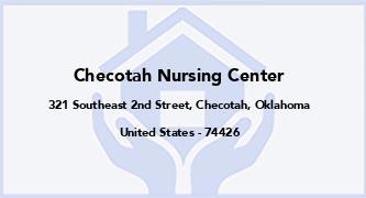 Checotah Nursing Center