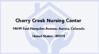 Cherry Creek Nursing Center