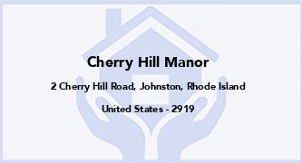 Cherry Hill Manor