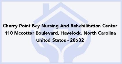 Cherry Point Bay Nursing And Rehabilitation Center