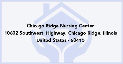Chicago Ridge Nursing Center