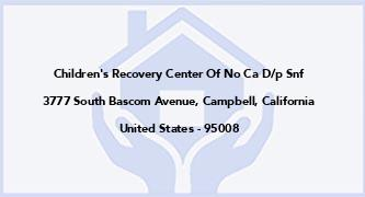 Children'S Recovery Center Of No Ca D/P Snf