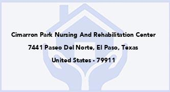 Cimarron Park Nursing And Rehabilitation Center