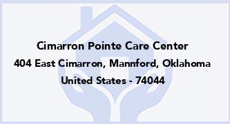 Cimarron Pointe Care Center