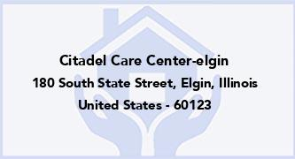 Citadel Care Center-Elgin