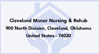 Cleveland Manor Nursing & Rehab