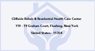 Cliffside Rehab & Residential Health Care Center