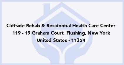 Cliffside Rehab & Residential Health Care Center