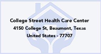 College Street Health Care Center