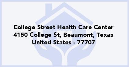 College Street Health Care Center