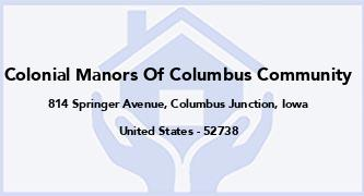 Colonial Manors Of Columbus Community