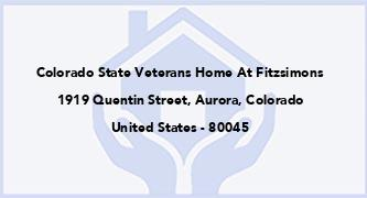 Colorado State Veterans Home At Fitzsimons