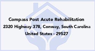 Compass Post Acute Rehabilitation