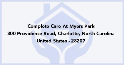Complete Care At Myers Park