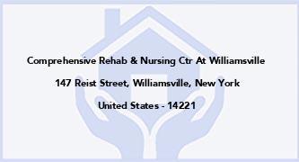 Comprehensive Rehab & Nursing Ctr At Williamsville