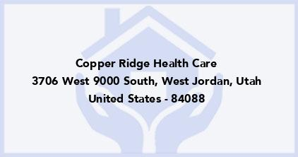 Copper Ridge Health Care