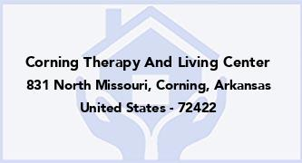 Corning Therapy And Living Center