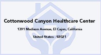 Cottonwood Canyon Healthcare Center