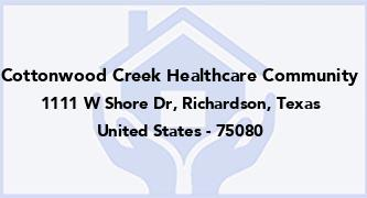 Cottonwood Creek Healthcare Community