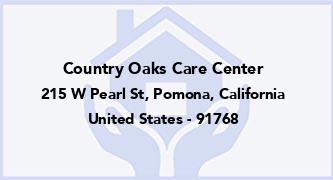 Country Oaks Care Center