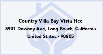 Country Villa Bay Vista Hcc