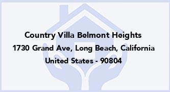 Country Villa Belmont Heights