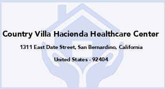 Country Villa Hacienda Healthcare Center