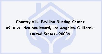Country Villa Pavilion Nursing Center