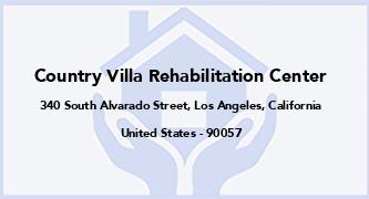 Country Villa Rehabilitation Center